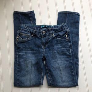 Youth Levi's skinny jeans, size 7 Reg